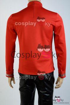 Star Trek III-V Scotty Engineering Vest Jacket Uniform Cosplay costume custom @