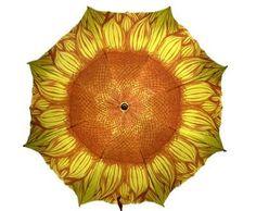Sunflower umbrella - in case of a rainy wedding