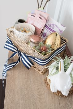 20 easter gifts that are too cute for words pinterest easter great ideas for a grown up easter basket easter ideas for adults this basket negle Gallery