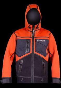 STRYKR Jacket - Foul weather, abrasion-resistant, Neoprene core, fleece lined, fishing soft shell $299.95