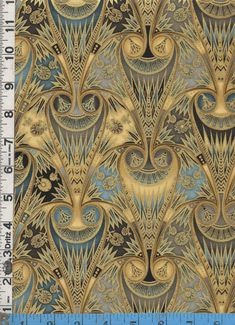 Fabric Kaufman VALLEY of the  KINGS EGYPTIAN  Lotus by fabricsmart, $19.99