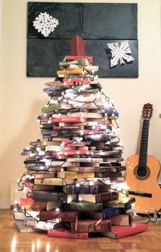 My very own Christmas children's and YA books  tree.