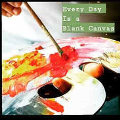 Evey new day is a clean slate. You can choose how you want to create your world. Clean Slate, Insta Videos, Blank Canvas, New Day, Create Yourself, Cleaning, Brand New Day, Home Cleaning