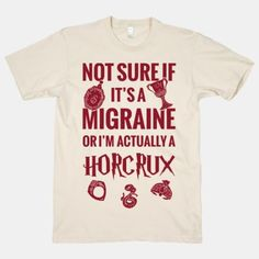 Not Sure If Migraine Or I'm Actually A Horcrux. Need dis. $28