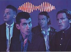Arctic Monkeys Band Portrait Poster 24x36 – BananaRoad