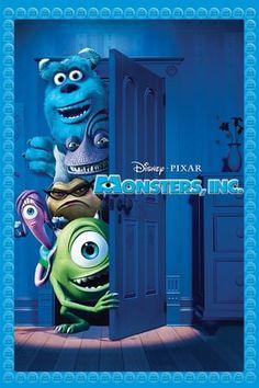 Monsters, Inc. (Four-Disc Blu-ray/DVD Combo + Digital Copy) [Blu-ray] by Disney*Pixar Disney Pixar, Film Disney, Disney Movies, Disney Stuff, Disney Magic, Pixar Movies, Hd Movies, Movies Online, Movie Tv