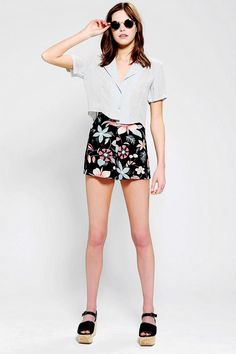 The Reformation X Urban Renewal Tap Short #urbanoutfitters