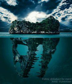 "189.2k Likes, 519 Comments - Daily Art  (@dailyart) on Instagram: ""Follow us @dailyart @dailyart !!  So amazing t-rex island!! Follow us @dailyart for more!…"""
