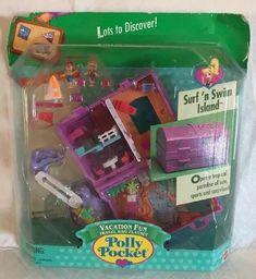 Nuevo En Caja Vintage Polly Bolsillo Fun Fair Set De Juego Juguetes Silly Spinner Muñecas Modelo