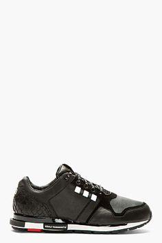 Y-3 Black Low-top Vern Sneakers for men | SSENSE