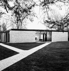 philip johnson home. 1951.