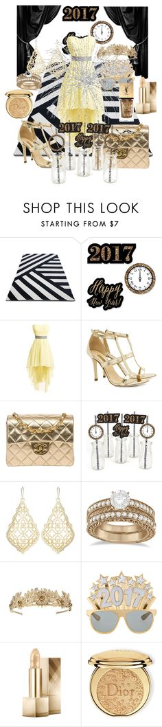 """""""Untitled #2752"""" by princhelle-mack ❤ liked on Polyvore featuring Dee Keller, Chanel, Kendra Scott, Allurez, Burberry, Christian Dior and Yves Saint Laurent"""