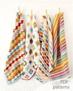 oferta especial paquete de patrones crochet venta de patrón múltiple ganga combo pack venta pdf principiante foto prop bebé manta afgan