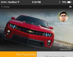 """Check out new work on my @Behance portfolio: """"Carpool Mobile Apps Concept"""" http://on.be.net/1HYcHm1"""