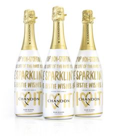 Holiday Gift Guide for The Hostess: Chandon Holiday Bottles