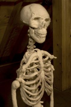 So cute for Halloween!  I love how anatomically correct it is!