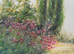 Cottage Garden 2 - painting by Jane See. Fine art prints and posters for sale. #cottagegarden #paintingsforsale #janesee
