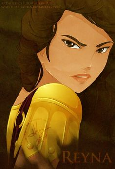 Reyna / Heroes of Olympus I actually like this