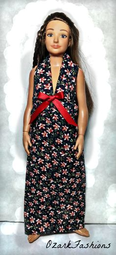 Lammily Fashion Doll Flowery Dress Only Flowers Lady Bugs Butterfly Red Roses