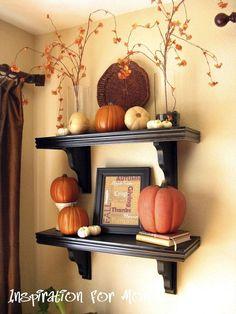 Hometalk :: Fun Festive and Fabulous Fall Fireplaces