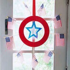 Indoor Wreath For 4th of July