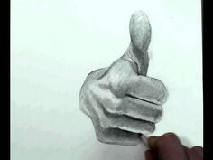 How to Draw the Hand Step by Step- Thumbs Up