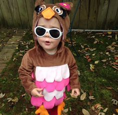 Someone is surprised in their Halloween outfit #babiatorsnation