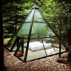 THIS is my idea of camping!