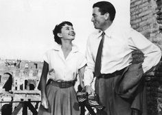In 1953, Hepburn made her American debut in a little movie called Roman Holiday, in which she starred opposite Gregory Peck and won over her adoring U.S. audience a hundred times over. While this image is a film still rather than a candid shot, Hepburn's style is perfectly encapsulated by this short-sleeved button-down that she seemed to wear every day from 1950-1980.