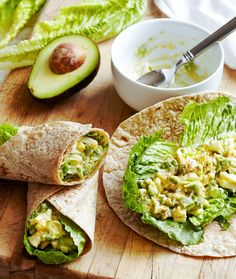 Ranch is rarely wrong. Here, it peps up the tasty egg salad filling in these wraps. Since the 4th of July entrée calls for a lettuce leaf to separate the tortilla from the egg mix, they'll arrive at the party in mint condition and not a bit soggy. #fourthofjuly #fourthofjulypicnic #picnicrecipes #fourthofjulyfoods #bhg
