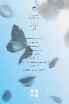 List for BTSs new album!! November comeback #BTS #JeNeRegretteRien #Run