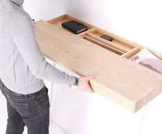 shifty desk by Daniel Schofield. Genius idea