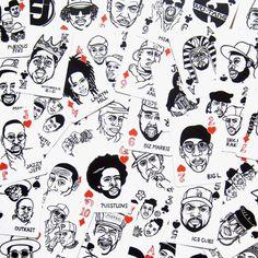 Hip Hop Playing Cards by Mynority Classics x Sayori Wada.