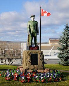 Trenton Cenotaph Nova Scotia, Landscape Photos, Some Pictures, Statue Of Liberty, The Past, Liberty Statue, Landscape Pictures