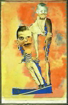 "Hannah Hoch - ""EQUILIBRE"" (""BALANCE"") 1925  Photomontage With Collage And Watercolor 30.5 x 20.3 cm  Collection Institut Für Auslandsbeziehungen, Stuttgart  © 1996 Artists Rights Society (Ars), New York/Nv Bild-Kunst, Bonn"