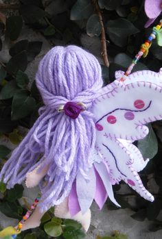 Diy Arts And Crafts, Cute Crafts, Felt Crafts, Christmas Fairy, Christmas Crafts, Fairy Crafts, My Fairy Garden, Clothespin Dolls, Felt Applique