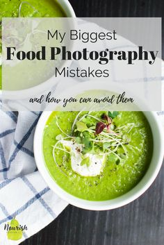 My biggest food photography mistakes and how you can avoid them | Food photography tutorial to make your healthy recipes pop. Included are many tips, ideas, and techniques to make your food drool-worthy and get your brand noticed | www.nourishnutritionblog.com via @nourishnutrico