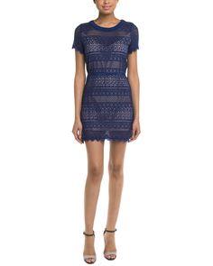 Spotted this BCBGMAXAZRIA Petite Darlita Deep Royal Blue Lace Dress on Rue La La. Shop (quickly!).