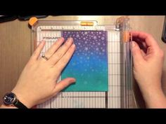 How to: Create Distress Ink Backgrounds