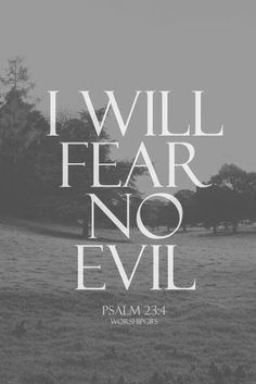 God's got my back, he takes care of all the evil that tries to come at me...always has, always will. Some call the good in my life luck but it is all heaven sent blessings