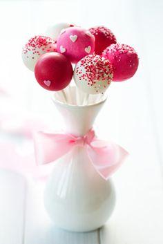 Mesa dulce. Cake pops!
