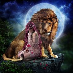 Beauty and the Beast by EstherPuche-Art (print image)