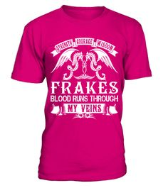 FRAKES - Blood Name Shirts