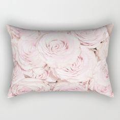 """Our Rectangular Pillow is the ultimate decorative accent to any room. Made from 100% spun polyester poplin fabric, these """"lumbar"""" pillows… #floral #photoadaption #vintage #shabby #homedecor #walldecor  #utart #print #poster #shabby-chic #flowers #flower #rose #roses #pink #pattern"""