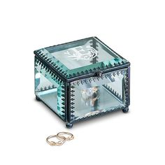 Glass and Metal Jewelry Box - Initial Design