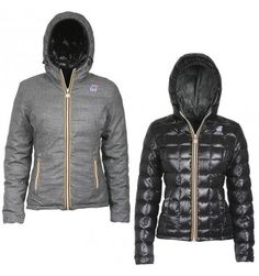 #Kway #jacket #woman #reversible #giubbotto #donna #reversibile