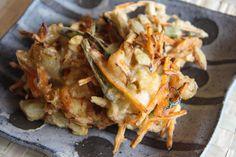 Kakiage Recipe - Japanese Cooking 101 - YouTube