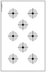 Printable High Power Rifle Targets for shooting practice