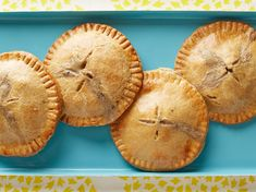 Mini Whole-Wheat Chicken Pot Pies recipe from Food Network Kitchen via Food Network