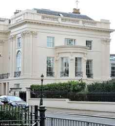 One Cornwall Terrace, London. Built in the 1820′s by renowned architect Decimus Burton, with the project overseen by the acclaimed John Nash, most famously known for designing Buckingham Palace.